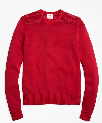 Garment-Dyed Crewneck Sweater