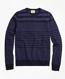 Merino Wool Fun Crewneck Sweater