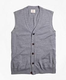 Merino Wool Sweater Vest