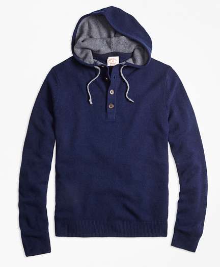 Henley Hooded Sweater