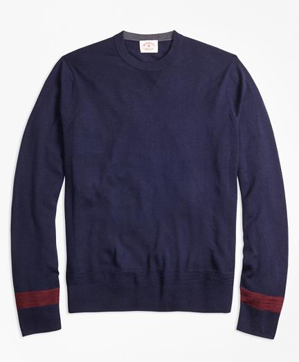 Colorblock Merino Wool Sweater