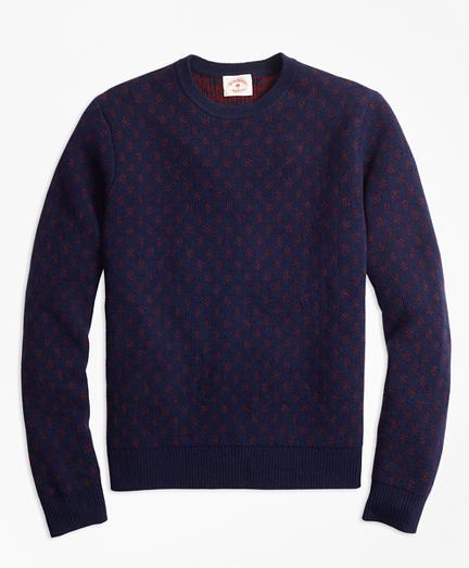 Foulard Jacquard Sweater