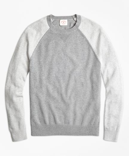 Color-Block Cotton-Cashmere Sweater