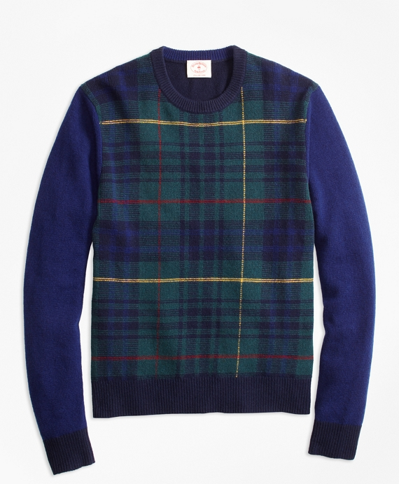 Stewart Hunting Tartan Wool-Blend Sweater Multi
