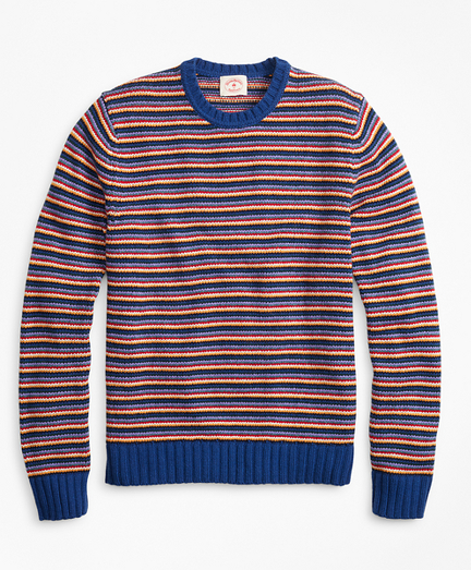 Feeder Stripe Crewneck Sweater