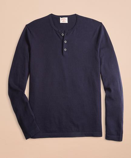 Cotton-Cashmere Henley