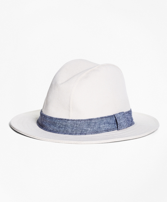 Canvas Panama Hat Natural