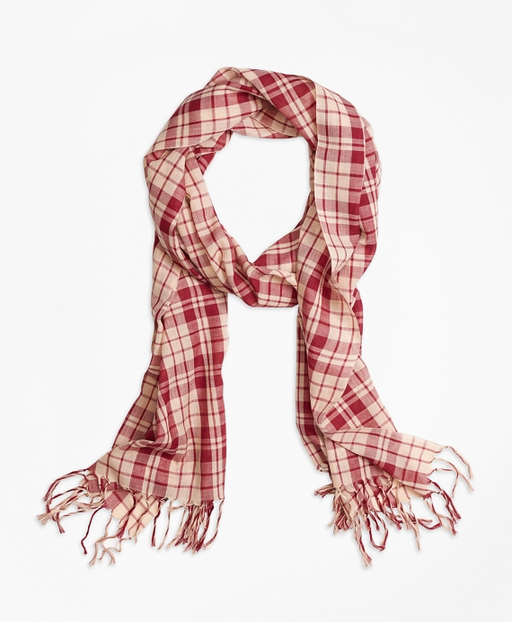 Multi Plaid Scarf