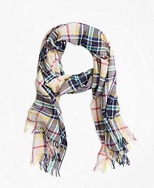 Plaid Scarf
