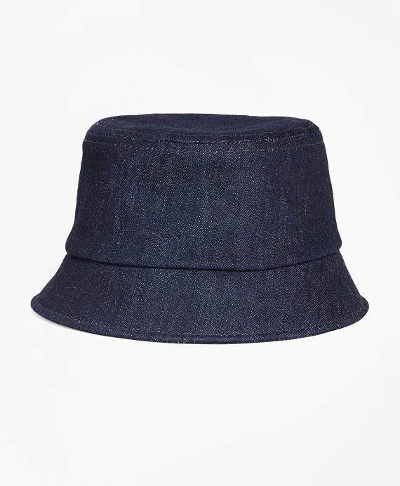 Denim Bucket Hat Navy