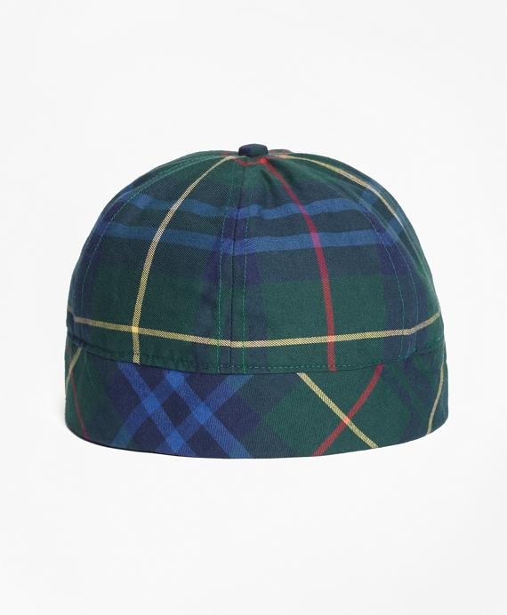 Tartan Wool-Blend Cap