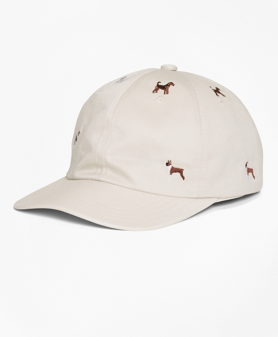 Embroidered Dog Baseball Cap
