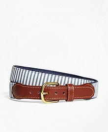 Seersucker Belt