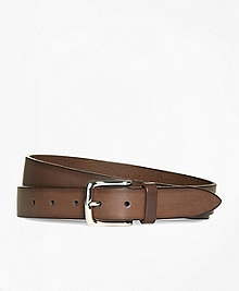 Burnished Leather Belt