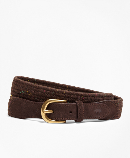 Donegal-Effect Woven Belt