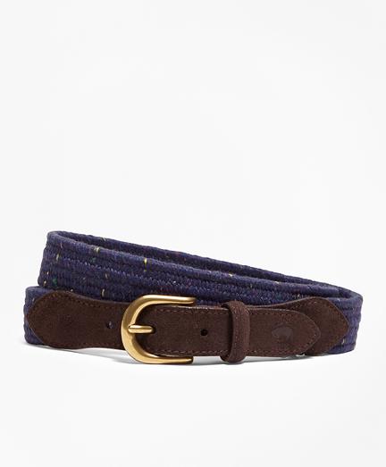 Donegal-Effect Woven Belt