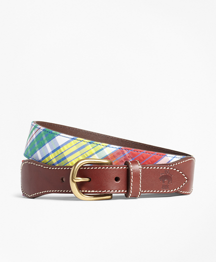 Madras Leather Belt