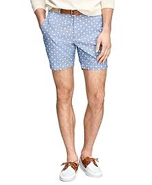 Hibiscus Print Shorts