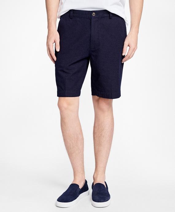 Dobby Dot Shorts