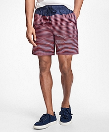 "Montauk 6"" Stripe Swim Trunks"