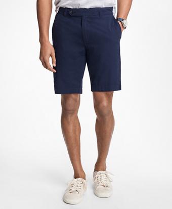 Cotton Seersucker Shorts
