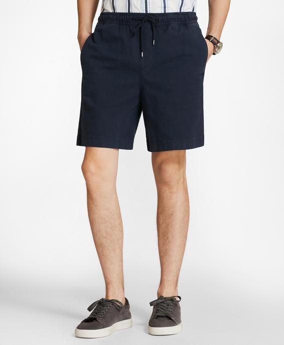 Elastic Stretch Chino Shorts