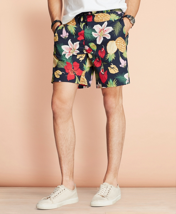 "Hybrid 7"" Floral Swim Trunks Multi"