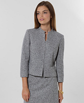 Wool Donegal Jacket