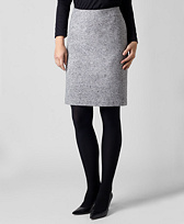 Wool Donegal Skirt