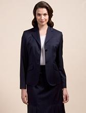 Petite Pinstripe Jacket