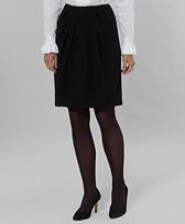 Petite Crepe Skirt