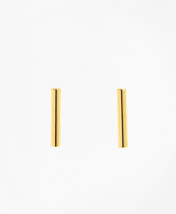 Tube Stud Earrings