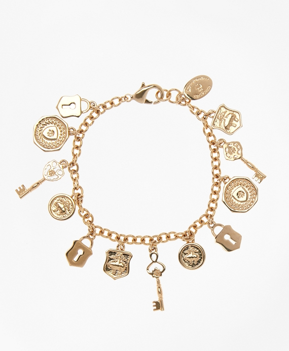 Gold-Plated Golden Fleece® Charm Bracelet