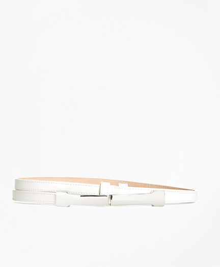 Leather Metal Buckle Belt