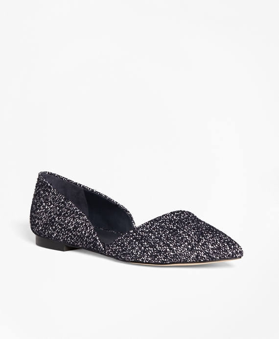 Leather Boucle d'Orsay Flats