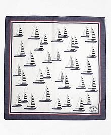 Cotton Sailboat Scarf