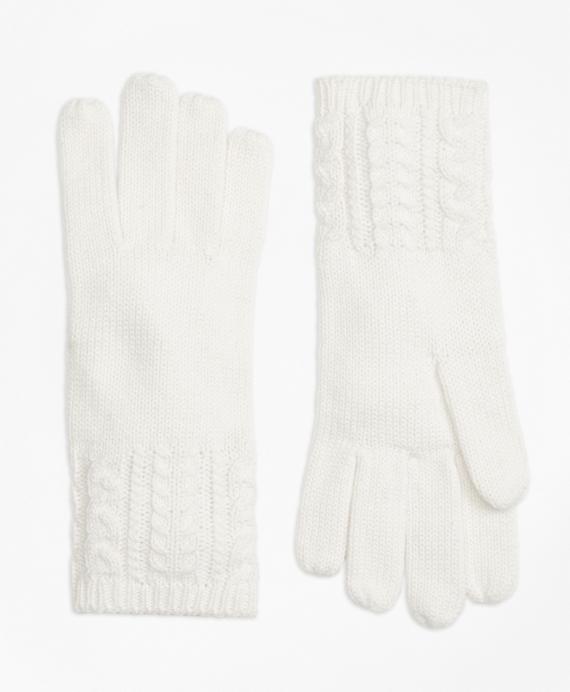 Aran Knit Gloves