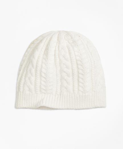 Aran Knit Hat