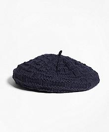 Knit Wool Beret