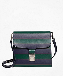 Saffiano Leather Cross-body Bag