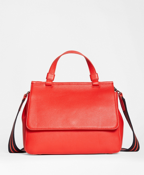 Pebble Leather Satchel