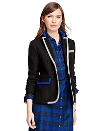 Wool Two-Button Jacket