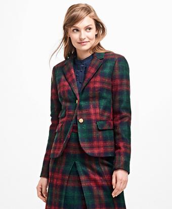 Tartan Wool Blazer