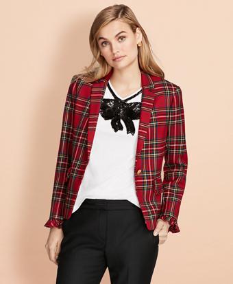 Tartan Wool Jacket