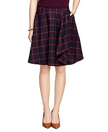 Windowpane Skirt