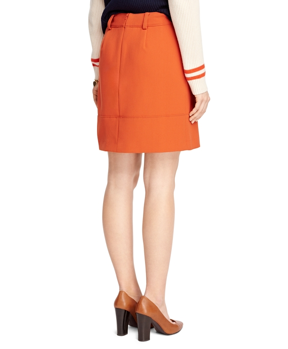 s orange a line skirt brothers