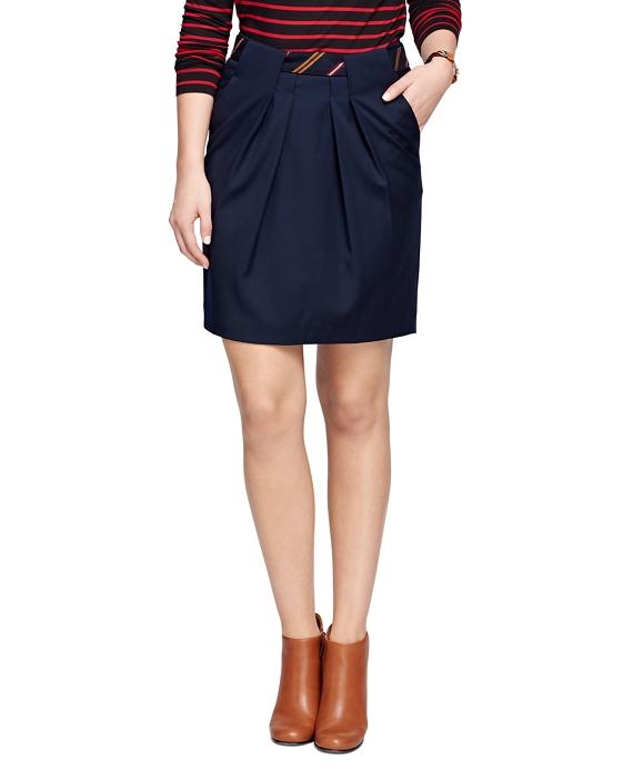 Wool Pencil Skirt