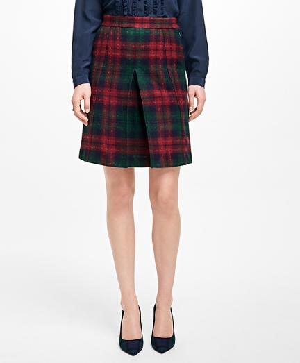 Tartan Wool Skirt