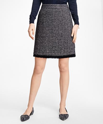 Boucle Fringe Skirt