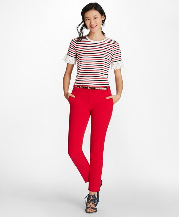 Red-Navy-White